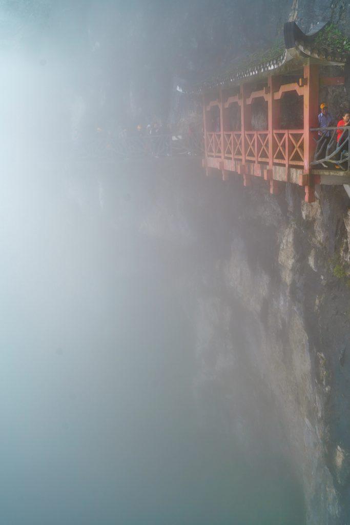 Another plank road at Tianmen Mountain altitude 1518,60 m, Zhangjiajie Hunan China