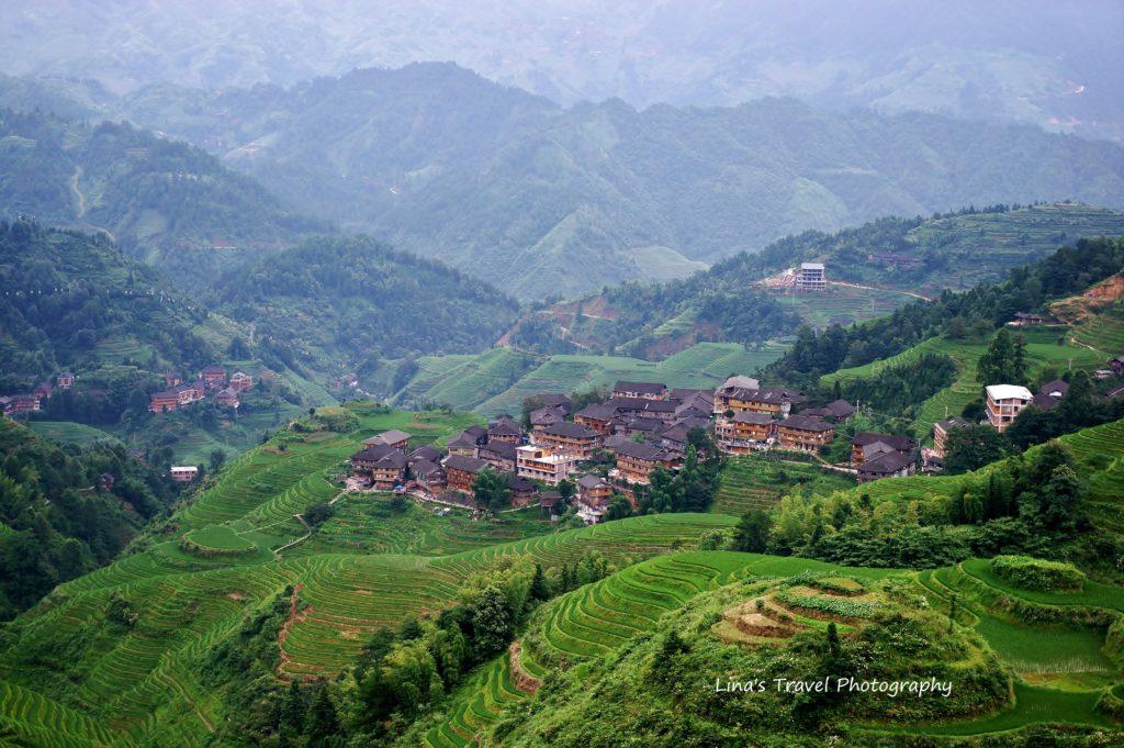 Dazhai Village, Longji Rice Terracces, Guangxi, China